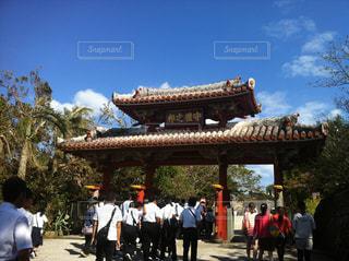 首里城の守礼の門の写真・画像素材[856971]