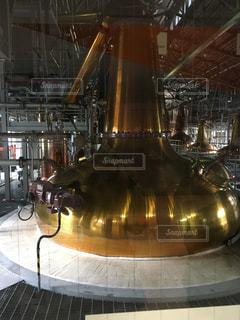 ウイスキー蒸留場@白州の写真・画像素材[826563]