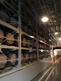 ウイスキー蒸留場@白州の写真・画像素材[826565]