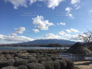 雄大な富士山の写真・画像素材[844993]