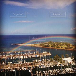twin Rainbowの写真・画像素材[827010]