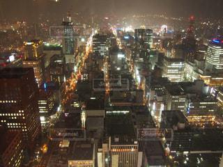 JRタワーからの夜景の写真・画像素材[827472]
