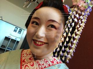 舞妓さんニヤリの写真・画像素材[833602]
