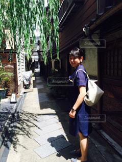 京都の小道の写真・画像素材[833664]