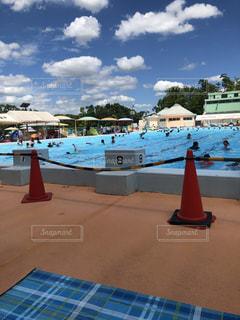 市民プールの写真・画像素材[2357072]