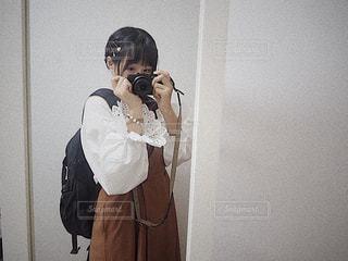 のほほんコーデの写真・画像素材[827835]