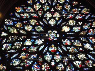 サント・シャペル教会のステンドグラスの写真・画像素材[926793]