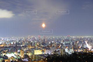 札幌の夜景の写真・画像素材[989137]