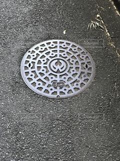 汚水マンホールの写真・画像素材[829564]
