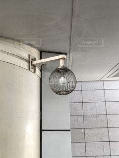 錆びた電灯の写真・画像素材[829583]