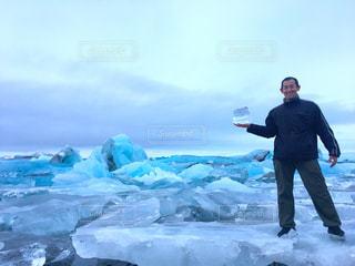 アイスランドの氷河 - No.830054