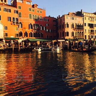 ヴェネチアの夕暮の写真・画像素材[830124]