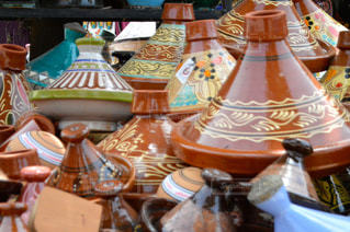 モロッコのタジン鍋の写真・画像素材[880850]
