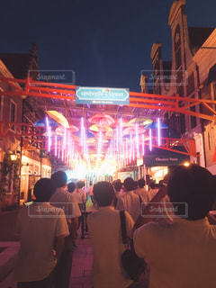 umbrella streetの写真・画像素材[830822]