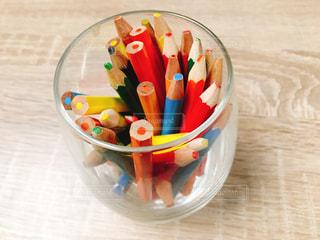 グラスにある鉛筆 - No.859915