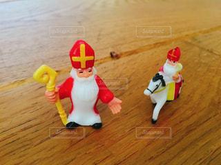 シンタクラースおもちゃの人形の写真・画像素材[872123]
