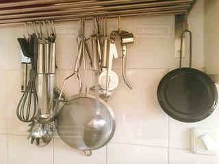 沢山のキッチンツールの写真・画像素材[1988585]
