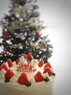 クリスマス ツリーとケーキ - No.931725