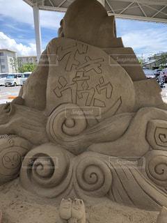 砂のアートの写真・画像素材[1289535]
