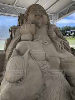 砂のアートの写真・画像素材[1289536]