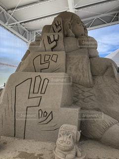 砂のアートの写真・画像素材[1289538]