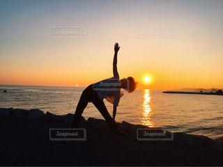 夕日の写真・画像素材[831410]
