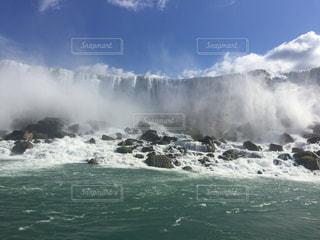 ナイアガラの滝の写真・画像素材[831569]