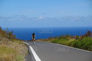 自転車でハワイをエンジョイの写真・画像素材[832377]