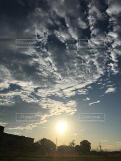 田舎 夕方の写真・画像素材[844625]