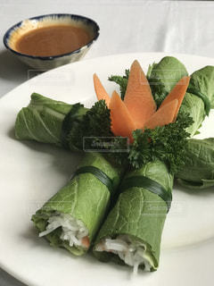 ベトナム料理のフエ風サラダの写真・画像素材[1288675]