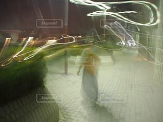 夜の散歩の写真・画像素材[834699]
