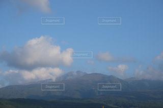 鳥海山  象潟町小滝から X-T10の写真・画像素材[844145]