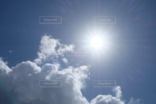 秋の始まり   晴天の日の空 X-T10の写真・画像素材[844426]