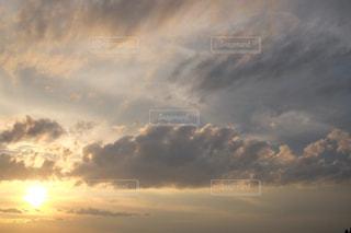 夕方の空 X-T10の写真・画像素材[854000]