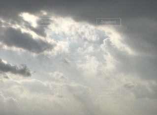 冬 朝の空  iPhone7Plusの写真・画像素材[895979]