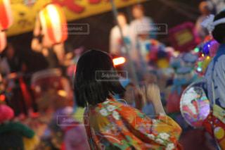 祭りの美女の写真・画像素材[1091530]