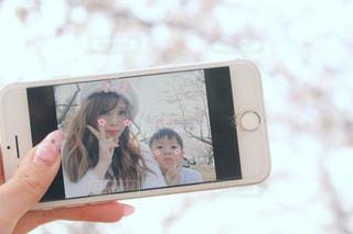 iphone画面の写真・画像素材[1111020]