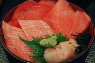 本鮪丼の写真・画像素材[1129100]