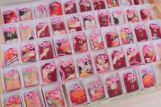 下鴨神社のお守りの写真・画像素材[1190912]