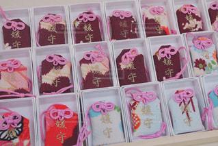 下鴨神社のお守りですの写真・画像素材[1190913]