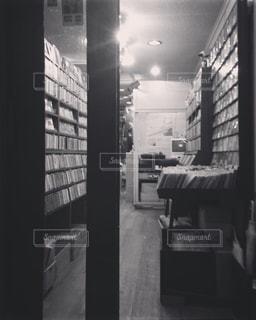 レコードショップの写真・画像素材[900833]