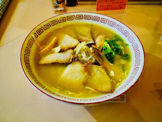 徳島ラーメン 豚骨醤油ラーメンの写真・画像素材[834477]