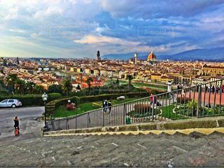 イタリアの街並みの写真・画像素材[834541]