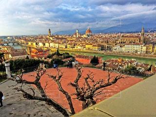 イタリアの街並みの写真・画像素材[834542]