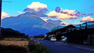 山のビューの写真・画像素材[892306]