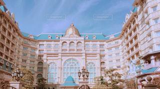 ディズニーランドホテルの冬支度の写真・画像素材[858461]