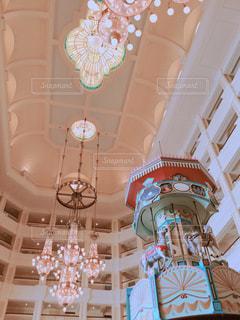 ディズニーランドホテル内の装飾の写真・画像素材[858462]