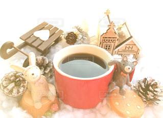 冬に飲む珈琲の写真・画像素材[869811]