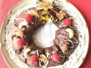 リースのケーキの写真・画像素材[869915]