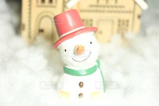 雪だるまの写真・画像素材[876039]